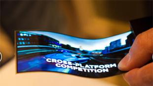 Samsung giới thiệu màn hình dẻo Youm tại CES 2013