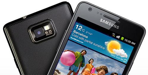 Cận cảnh Samsung Galaxy S II Plus