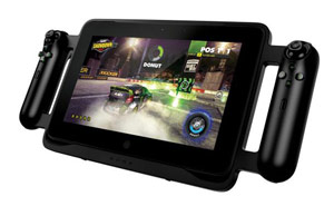 Trên tay tablet chơi game Razer Edge