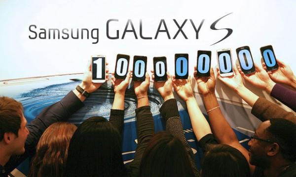 Ba thế hệ dòng Galaxy S bán được 100 triệu chiếc