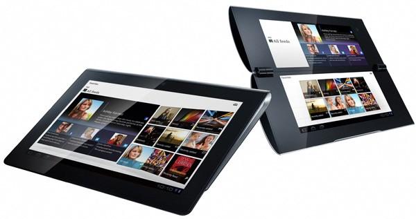 Trên tay Sony Tablet S – Đối thủ trực tiếp của iPad