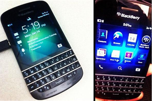 BlackBerry X10 lộ ảnh trên Instagram