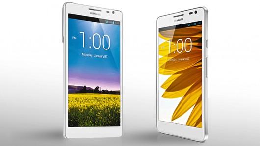 Smartphone lớn nhất thế giới Huawei Ascend Mate có giá khoảng 500 USD