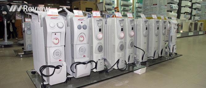 Chọn mua thiết bị sưởi ấm mùa rét