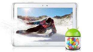 Cập nhật Jelly Bean cho Galaxy Tab 2 7.0, Galaxy Tab 2 10.1 và Galaxy Note 10.1.