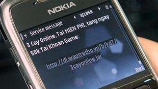 Gửi SMS, email quảng cáo bừa bãi sẽ bị phạt 30 triệu đồng
