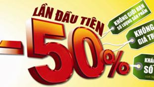 Ngày 25/1, TopCare giảm 50% hàng loạt sản phẩm