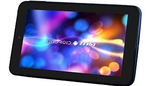 MSI ra tablet 7 inch giá rẻ Enjoy 71