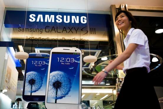 Mảng di động của Samsung lãi 5 tỷ USD trong quý IV