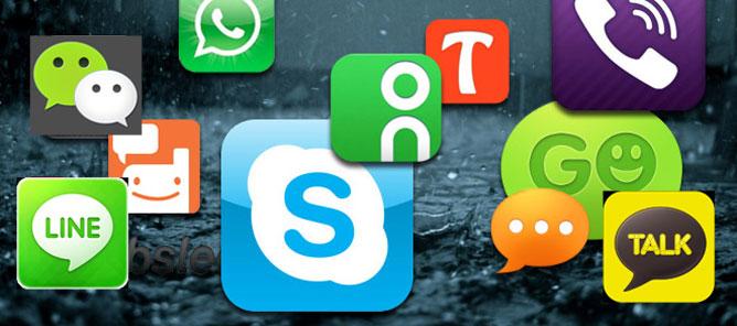 Dịch vụ tin nhắn và gọi điện miễn phí: Chặn hay sống chung?