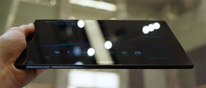 Đánh giá nhanh Sony Xperia Tablet Z
