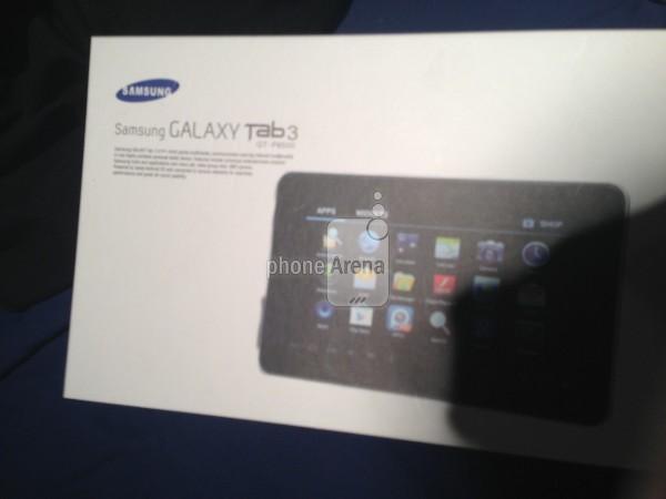 Lộ ảnh Samsung Galaxy Tab 3 trước thềm MWC