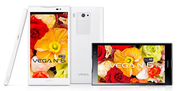 Pantech ra mắt Vega No 6 màn hình Full-HD 5.9 inch ở Hàn Quốc