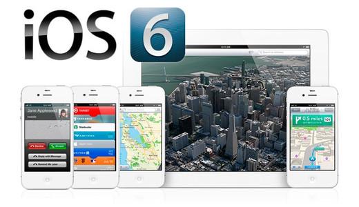 300 triệu máy đang chạy hệ điều hành iOS 6