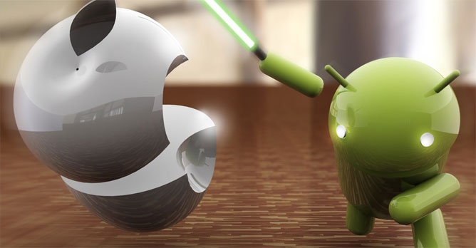 Android đang thực sự đè bẹp iPhone?