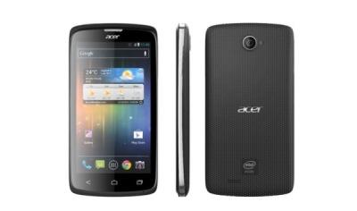 Acer ra mắt điện thoại Liquid C1 dùng chip Intel và Android 4.0