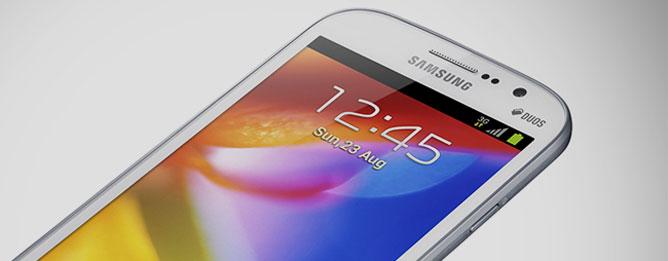 Đánh giá nhanh Samsung Galaxy Grand: 5 inch, 2 SIM và giá rẻ