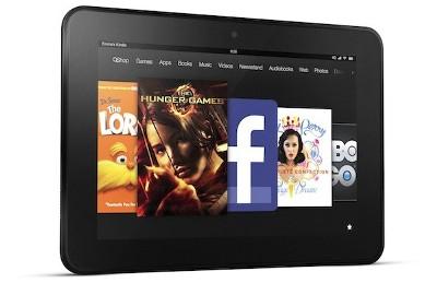 Amazon giảm 10% giá máy tính bảng Kindle Fire HD