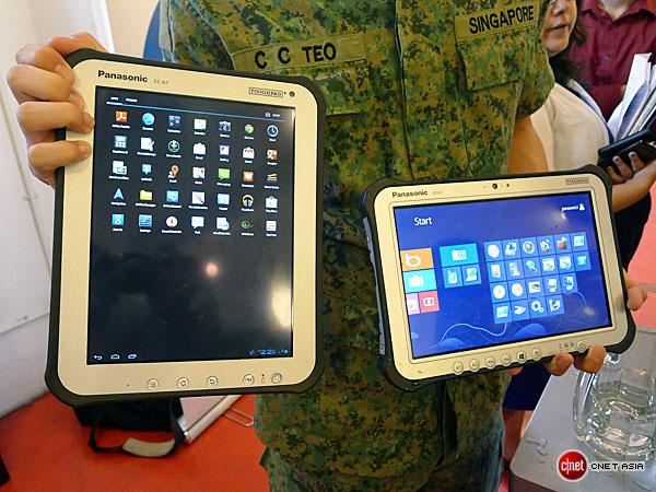 Panasonic ra máy tính bảng Toughpad chống va đập, chạy Windows 8