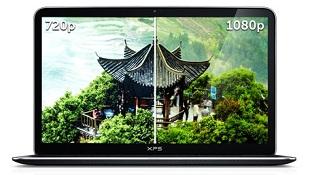 Ultrabook Dell XPS 13 được nâng cấp màn hình 1080p