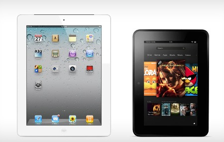 Amazon: màn hình Kindle Fire HD đẹp chẳng kém iPad