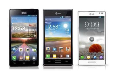 LG Optimus 4X HD, L7 và L9 sẽ được cập nhật Jelly Bean