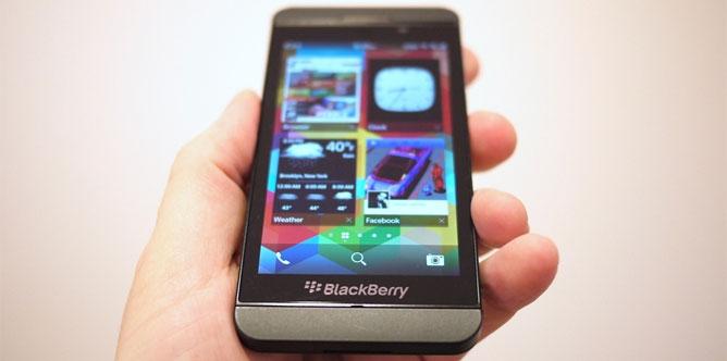 Đánh giá BlackBerry Z10