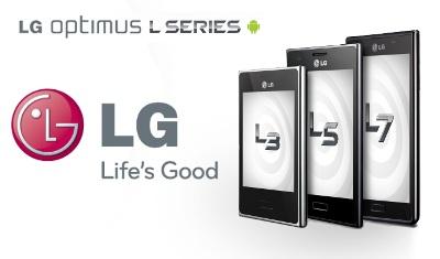 Lộ diện LG Optimus L3 II, L5 II và L7 II