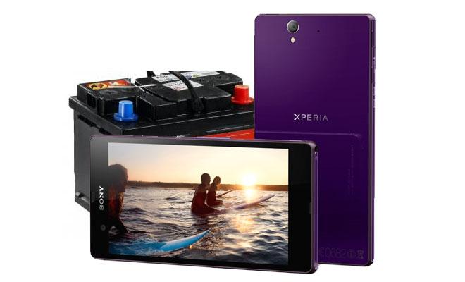 Pin của Sony Xperia Z cho kết quả benchmark cực tốt