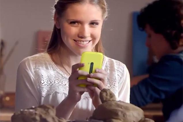 """Nokia để lộ ảnh một mẫu điện thoại """"bí ẩn"""""""
