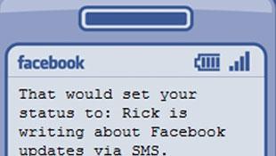 Cập nhật status Facebook qua tin nhắn SMS