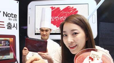 Samsung Galaxy Note 8.0 bán vào cuối tháng Ba, đắt hơn iPad Mini