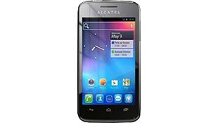 Smartphone lõi kép Alcatel OT 5020E có giá 140 USD