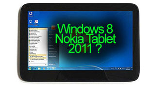 Máy tính bảng Nokia Windows 8 sẽ ra mắt tháng 6/2012