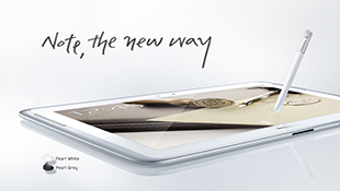 Samsung Galaxy Note 10.1 được lên đời Android 4.1.2 Jelly Bean