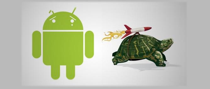 Почему андроид медленно работает
