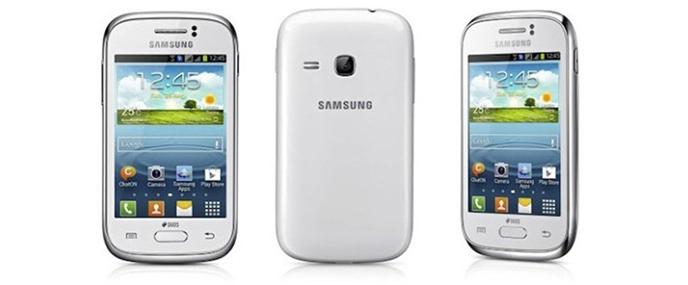 Đánh giá nhanh Samsung Galaxy Young Duos 2013