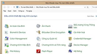 Cài đặt tiếng Việt cho Windows 8
