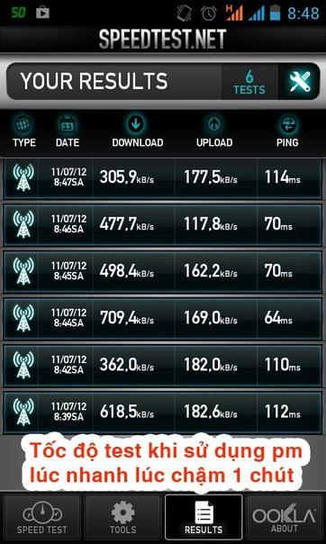 cách tăng tốc độ truy cập mạng 3G