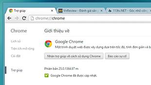 Google phát hành Google Chrome 25