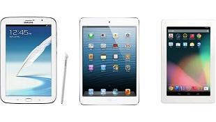 Đọ thông số Galaxy Note 8.0, iPad Mini và Nexus 7