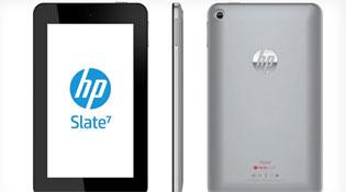 HP công bố máy tính bảng Android đầu tiên: Slate 7, giá 170 USD