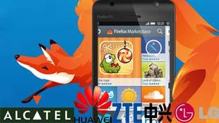 ZTE, Alcatel, Huawei và LG sẽ sản xuất smartphone chạy Firefox OS