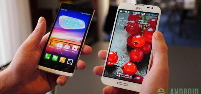 """LG Optimus G Pro đọ với máy """"Tàu"""" Oppo Find 5"""