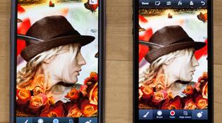 Photoshop Touch có phiên bản cho iPhone và Android, giá 5 USD