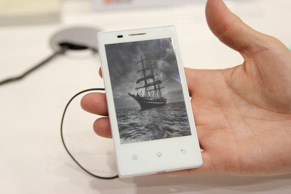 Smartphone 3G giá rẻ sử dụng mực điện tử ra mắt tại MWC