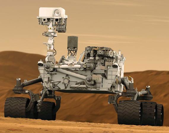 Xe thám hiểm sao Hỏa Curiosity gặp sự cố, ngừng hoạt động trong một tuần