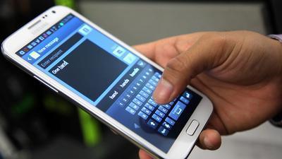 Đến lượt màn hình khóa của Samsung Galaxy Note II bị đánh bại