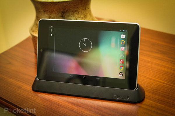 Dock của Nexus 7 hết veo sau vài giờ bán trên Play Store