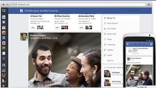 Facebook ra mắt News Feed mới: hợp nhất trải nghiệm di động và máy tính